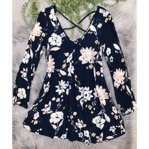 Billabong Crisscross Back Dress